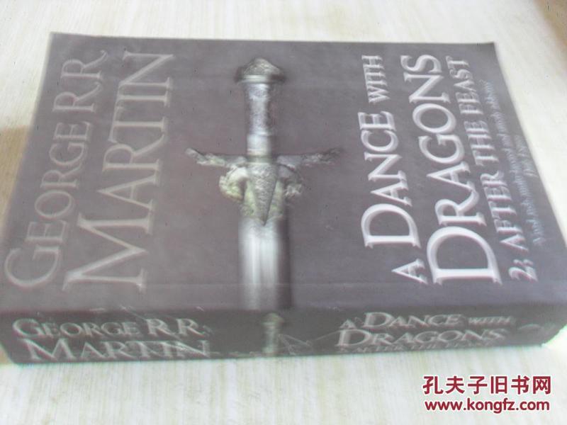 英文原版   A Dance with Dragons Book 5 Part 1 & 2 of a Song of Ice and Fire