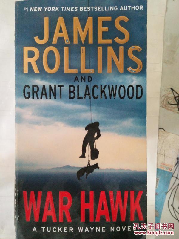 正版 外文书  War Hawk: A Tucker Wayne Novel  9780062135292