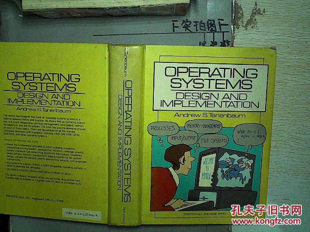 Operating Systems: Design And Implementation(英文书A01)