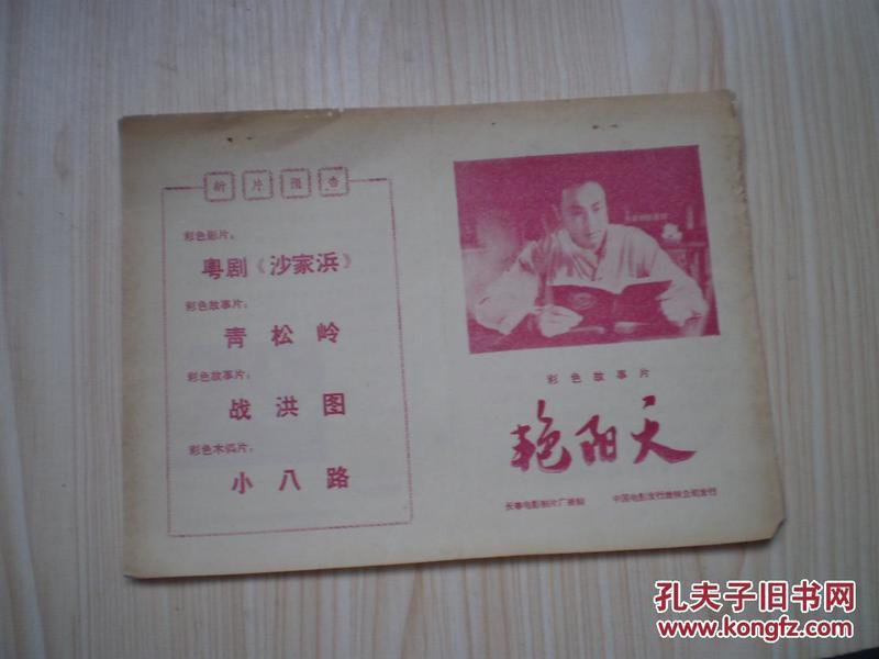 电影介绍  1974、2   艳阳天
