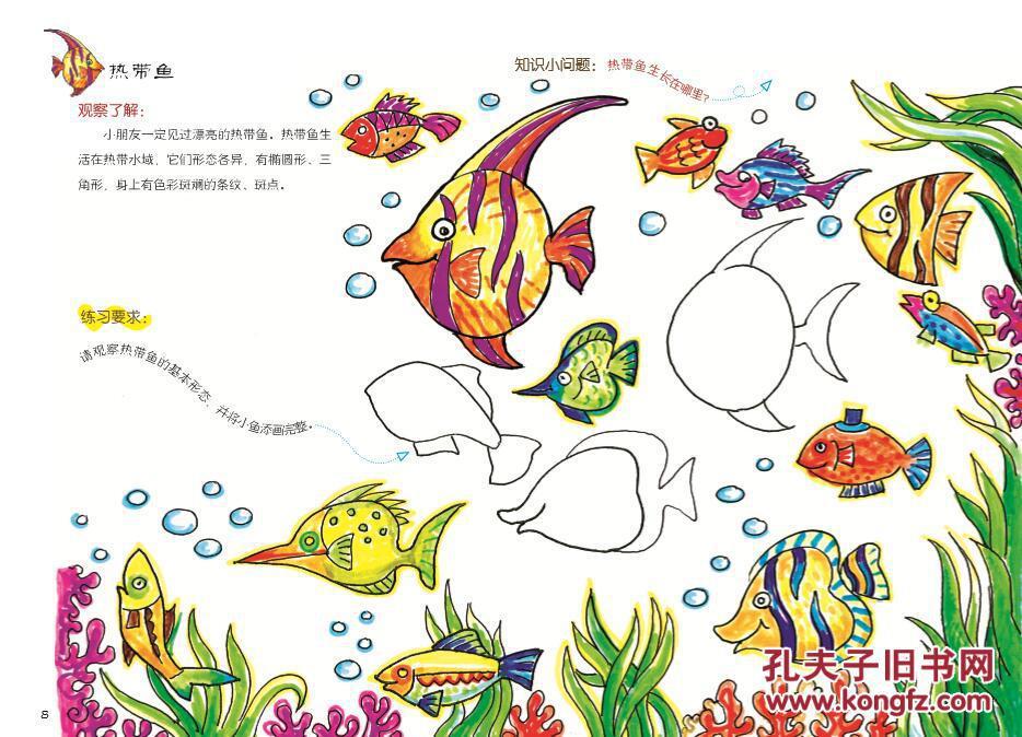儿童趣味创意绘画图片