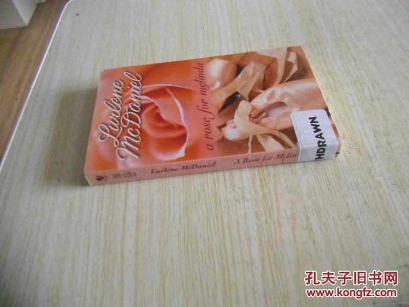英文原版    A Rose for Melinda