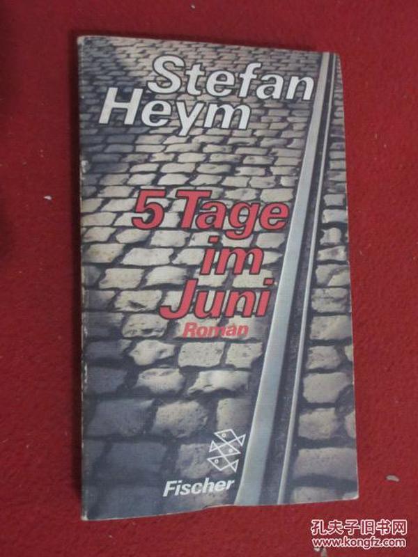 Stefan   Heym  5Tage  im  Juni Roman