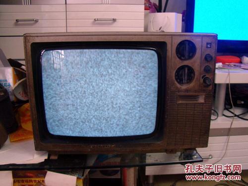 14寸熊猫牌黑白电视机