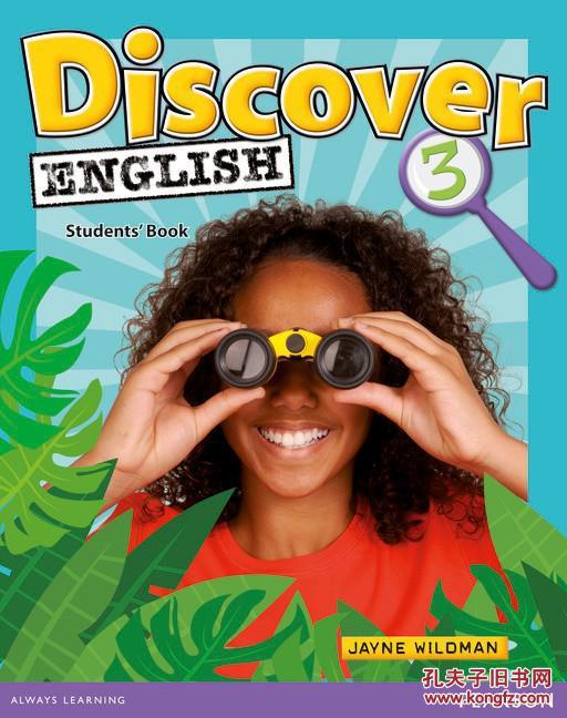 英国Pearson儿童英语 Discover English Starter级 4级 14张听的 2张玩的 配套文本 满300包邮