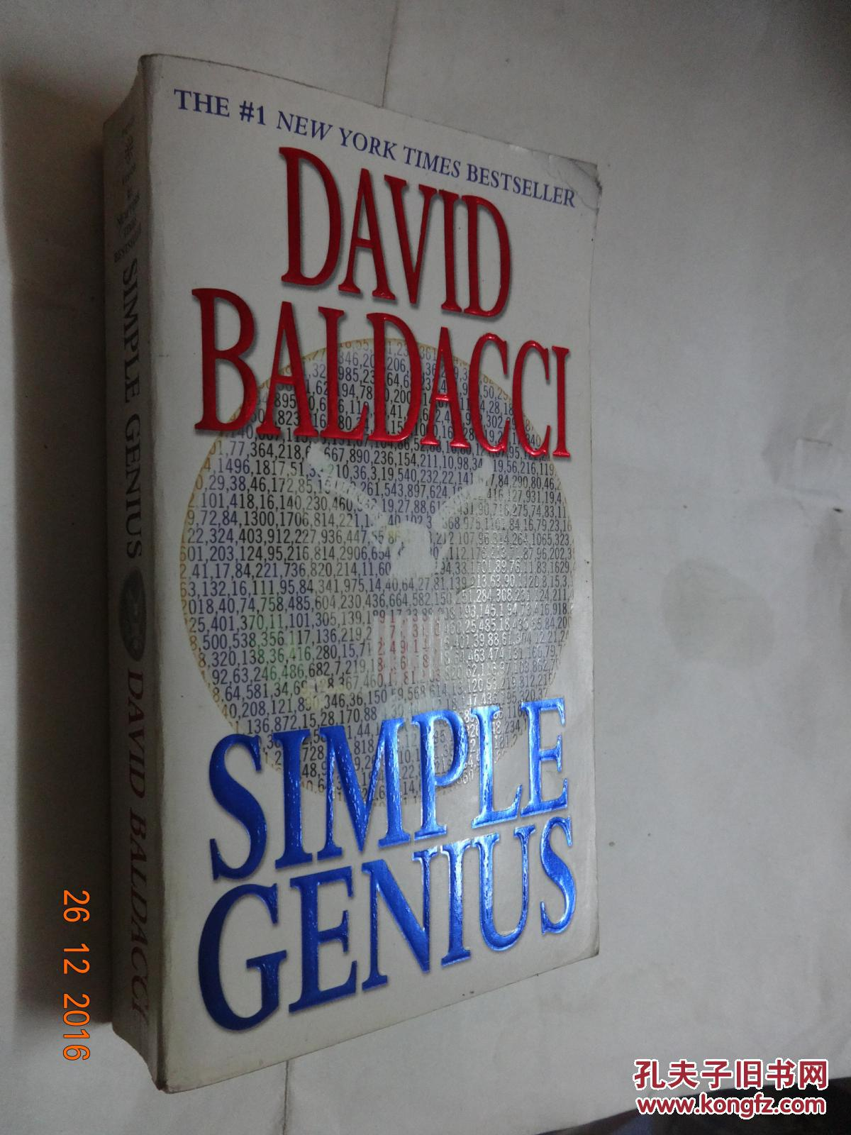 david baldacci--simple genius(英文原版)