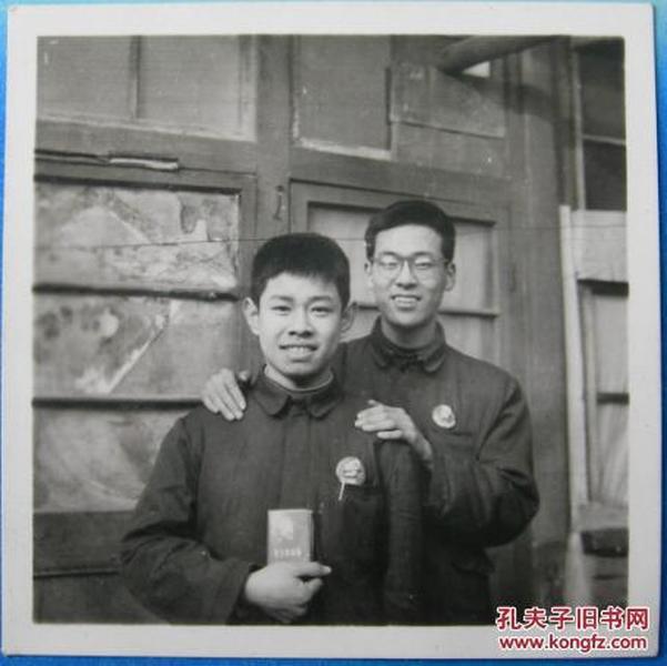 文革老照片:毛主席像章,毛主席语录【陌上花开系列】