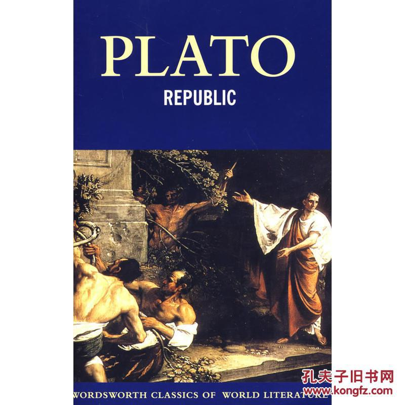 理想国 Plato(柏拉图) Republic  (Wordsworth Classics)英文原版