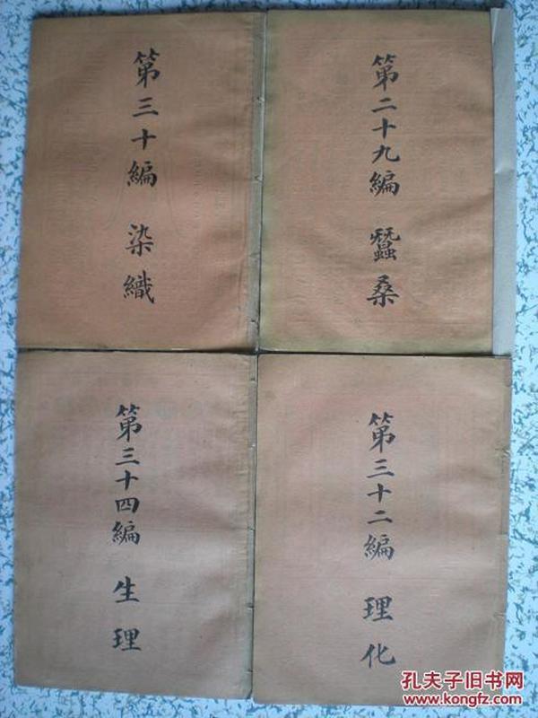 民国百科丛书——染织..