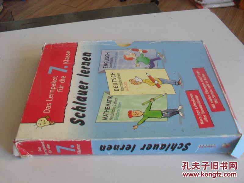 德文原版      Englisch Grammatik Textverständnis Klasse 7