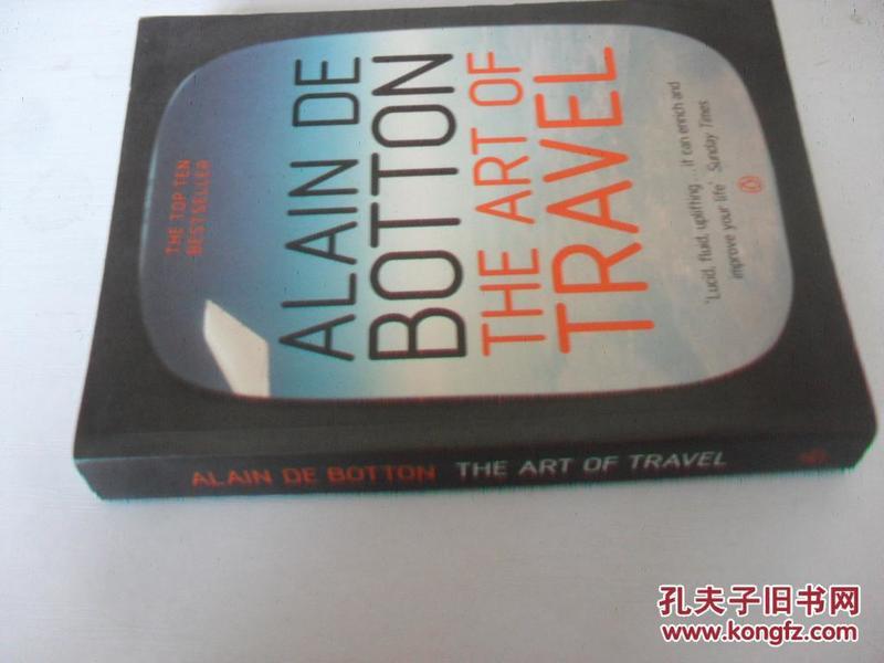 英文原版  旅行的艺术 阿兰·德波顿   Art Of Travel