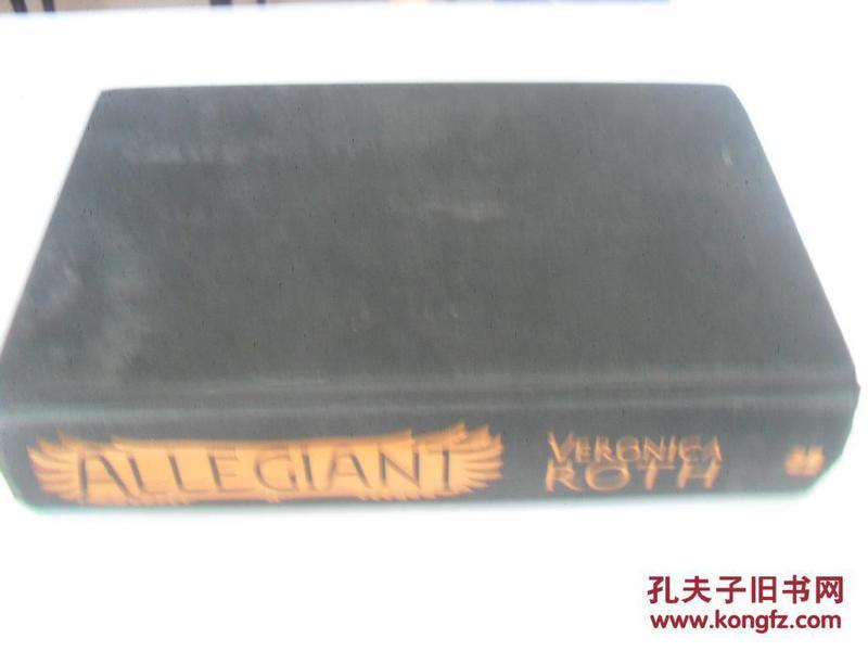 英文原版  Allegiant (Divergent)