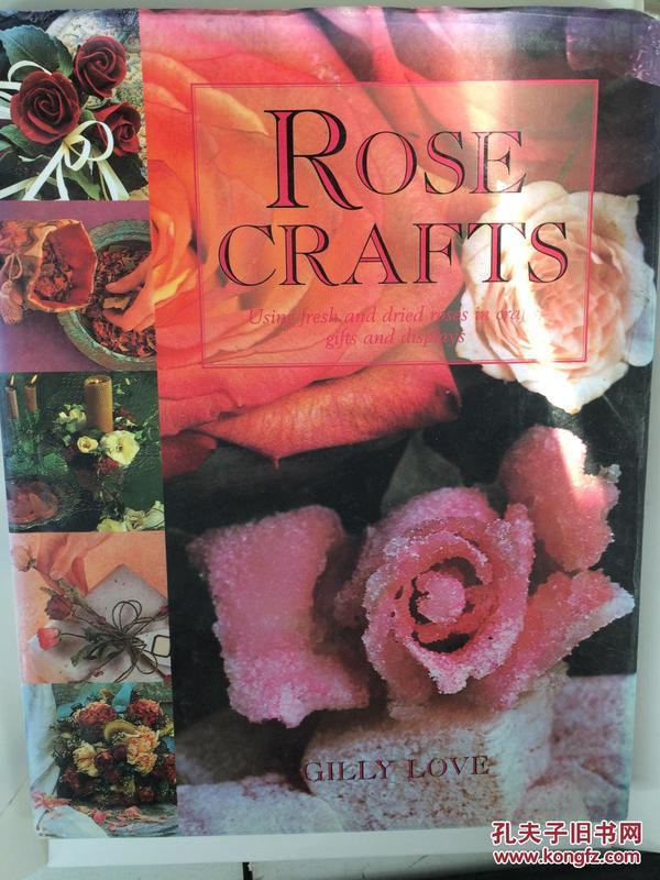 【全国运费6元起】Rose Crafts: Using Fresh and Dried Roses in Crafts, Gifts and Displays 9781840380866