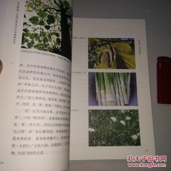 草木缘情 中国古典文学中的植物世界 16开精装