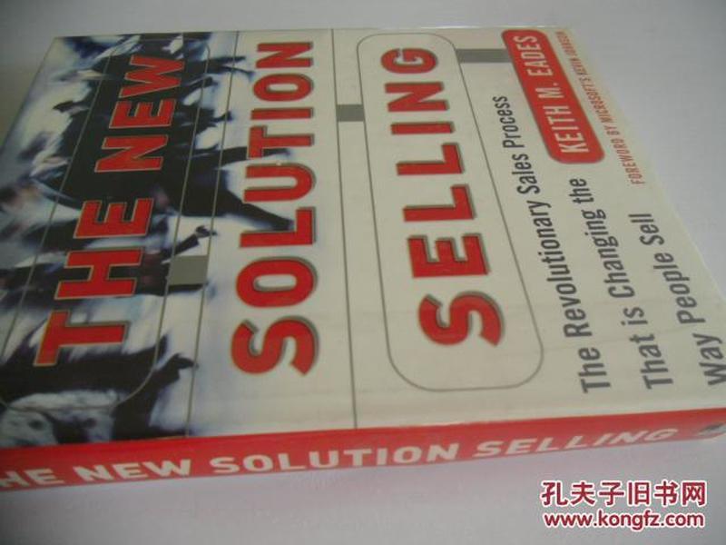 英文原版     The New Solution Selling