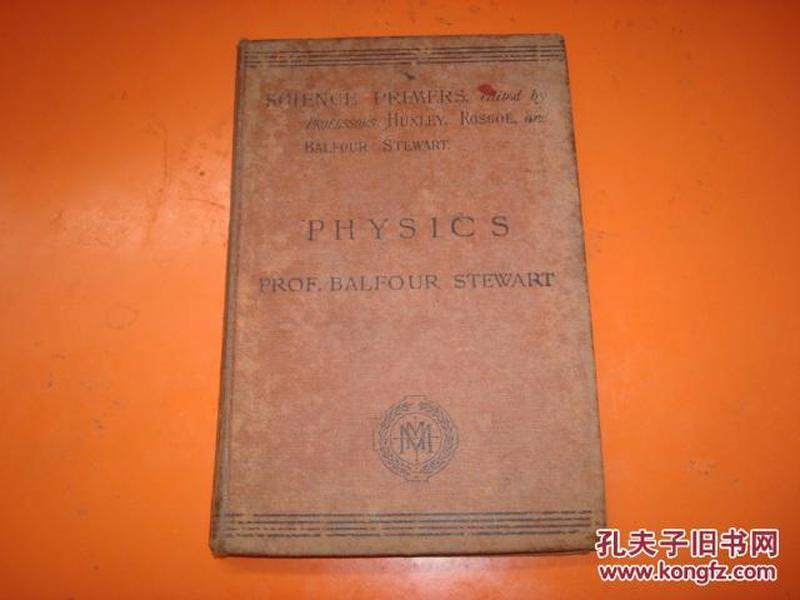PHYSIC S 1905年   外文版物理学