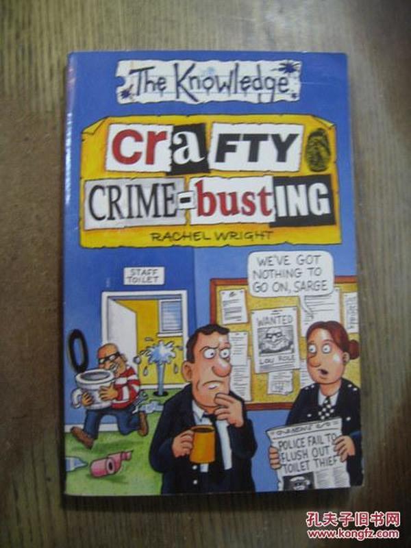 CRAFTY CRIME-BUSTING