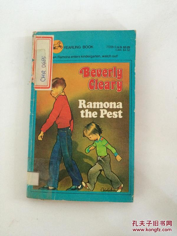 【全国运费6元起】Ramona the pest 071009003255
