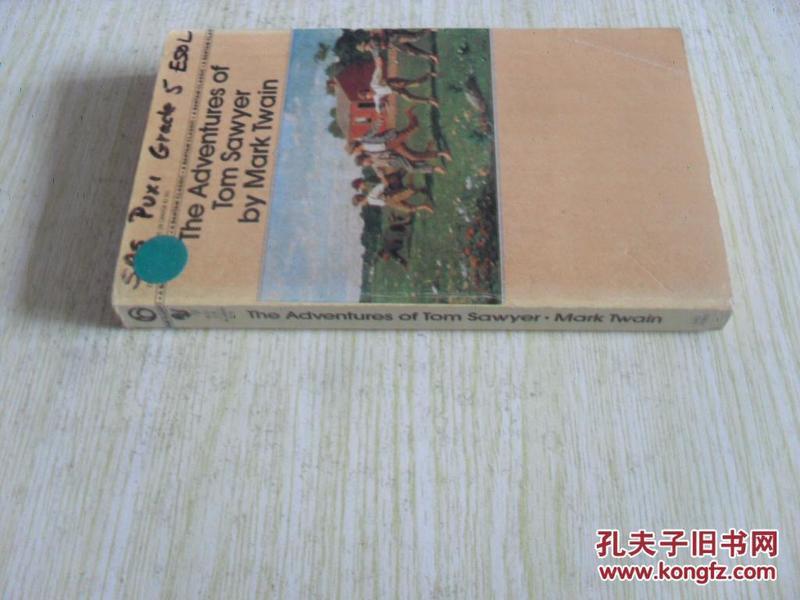 英文原版      The Adventures of Tom Sawyer (Bantam Classics)