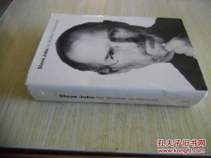 英文原版      Steve Jobs(美国版)
