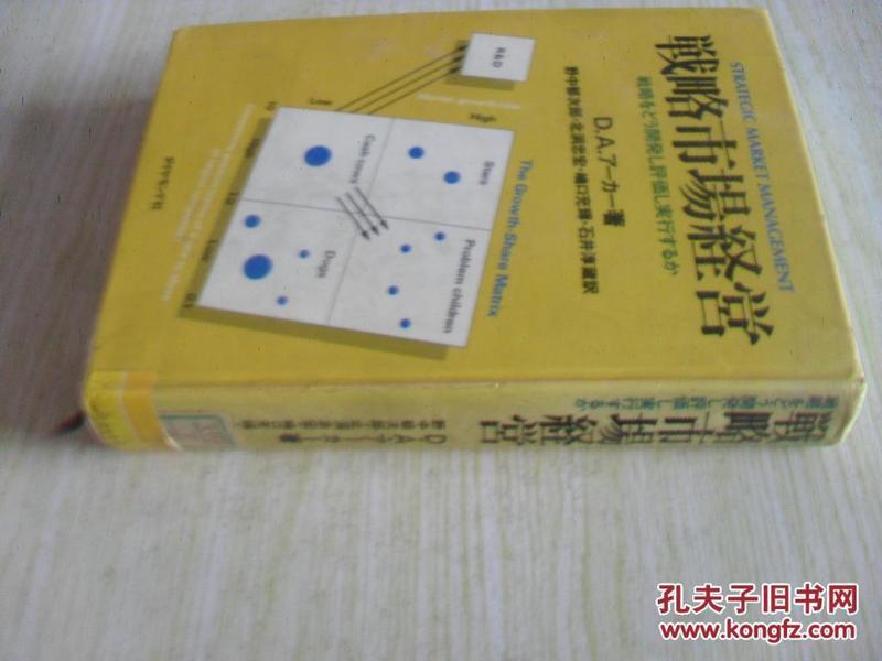 日文原版       戦略市场経営―戦略をどう开発し评価し実行するか