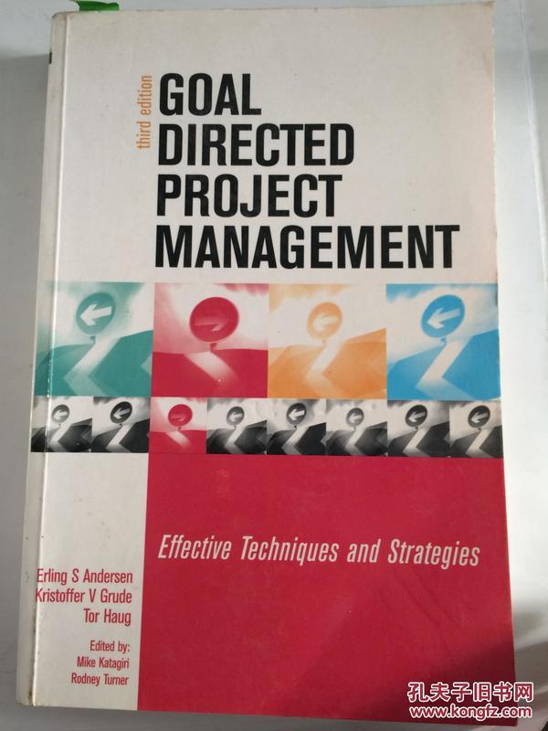 【全国运费6元起】Goal Directed Project Management:Effective Techniques and Strategies 3rd Ed9780749441869