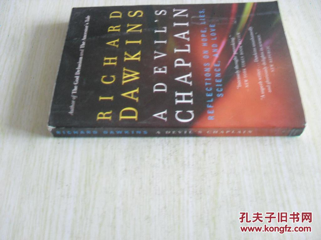 英文原版       A Devil's Chaplain: Reflections on Hope, Lies, Science, and Love