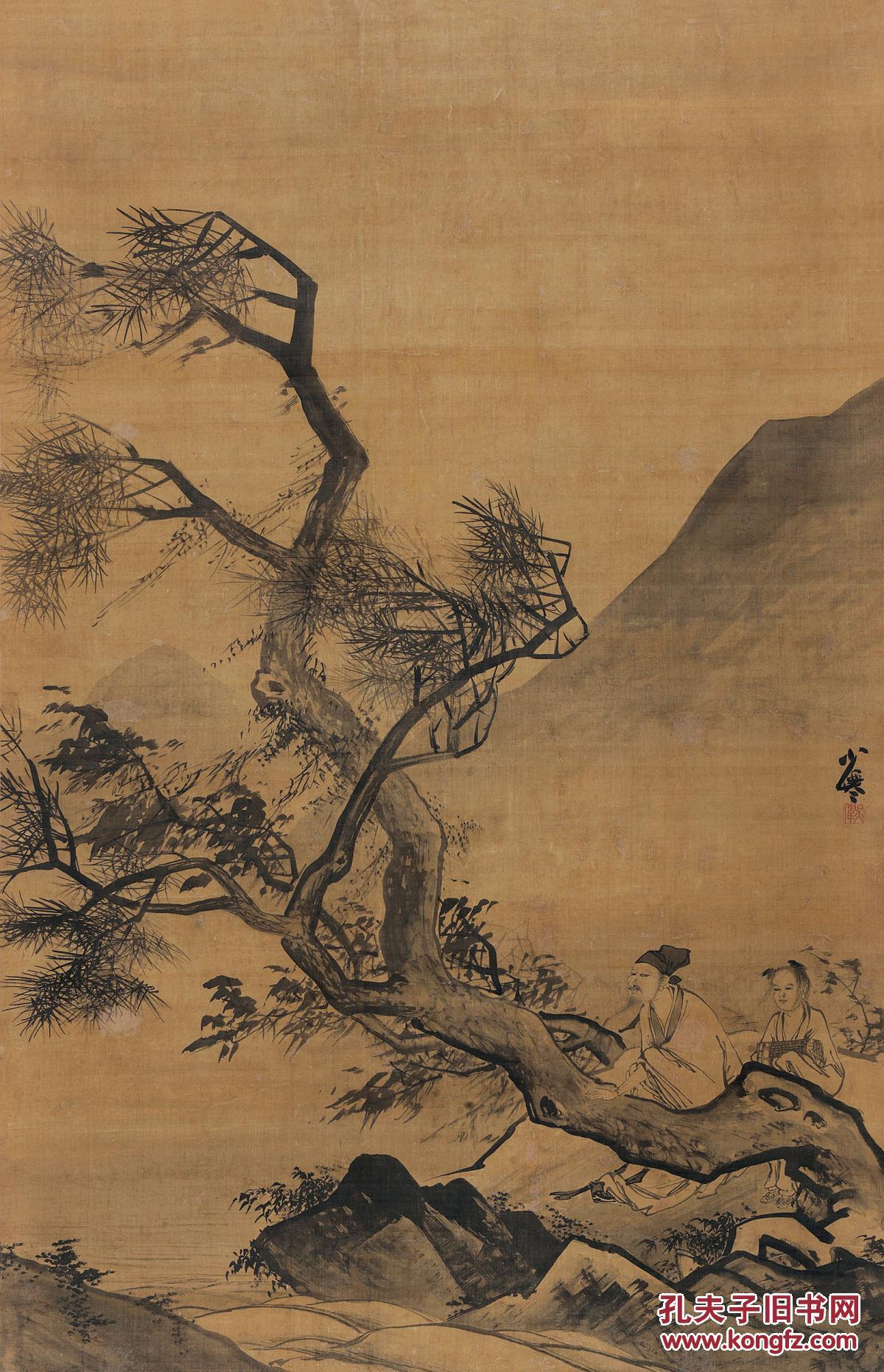 2014北京保利秋季拍卖会仰之弥高——中国古代书画夜场 封面拍品 明.图片