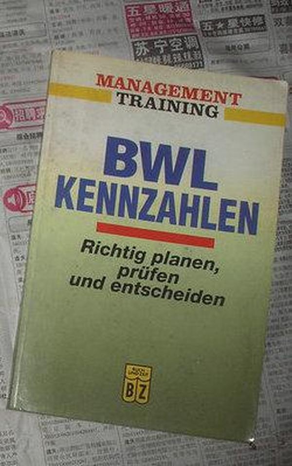 bwl kennzahlen:richtig planen,prufen und entscheiden