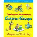 The Complete Adventures of Curious George, Special Collector's Edition好奇猴乔治历险记,全本收藏版,精装彩图,品佳
