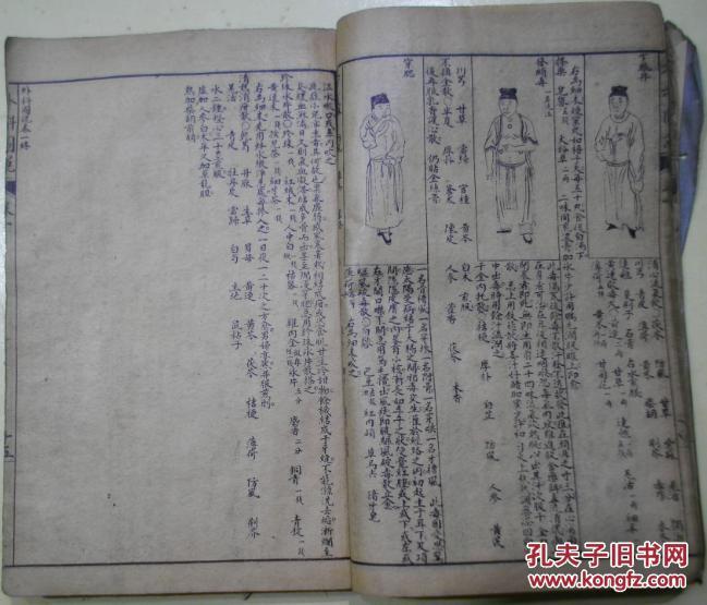 《外科图说》四卷四册合订一册(论医,疮名赋,外科应用