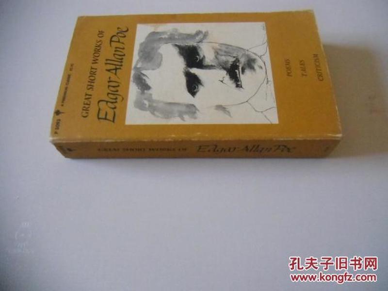 英文原版     Great Short Works of Edgar Allan Poe