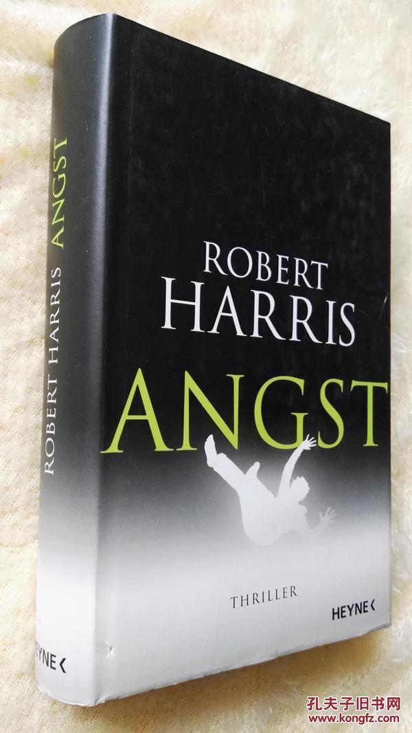 德文原版 惊悚小说    Angst by Robert Harris