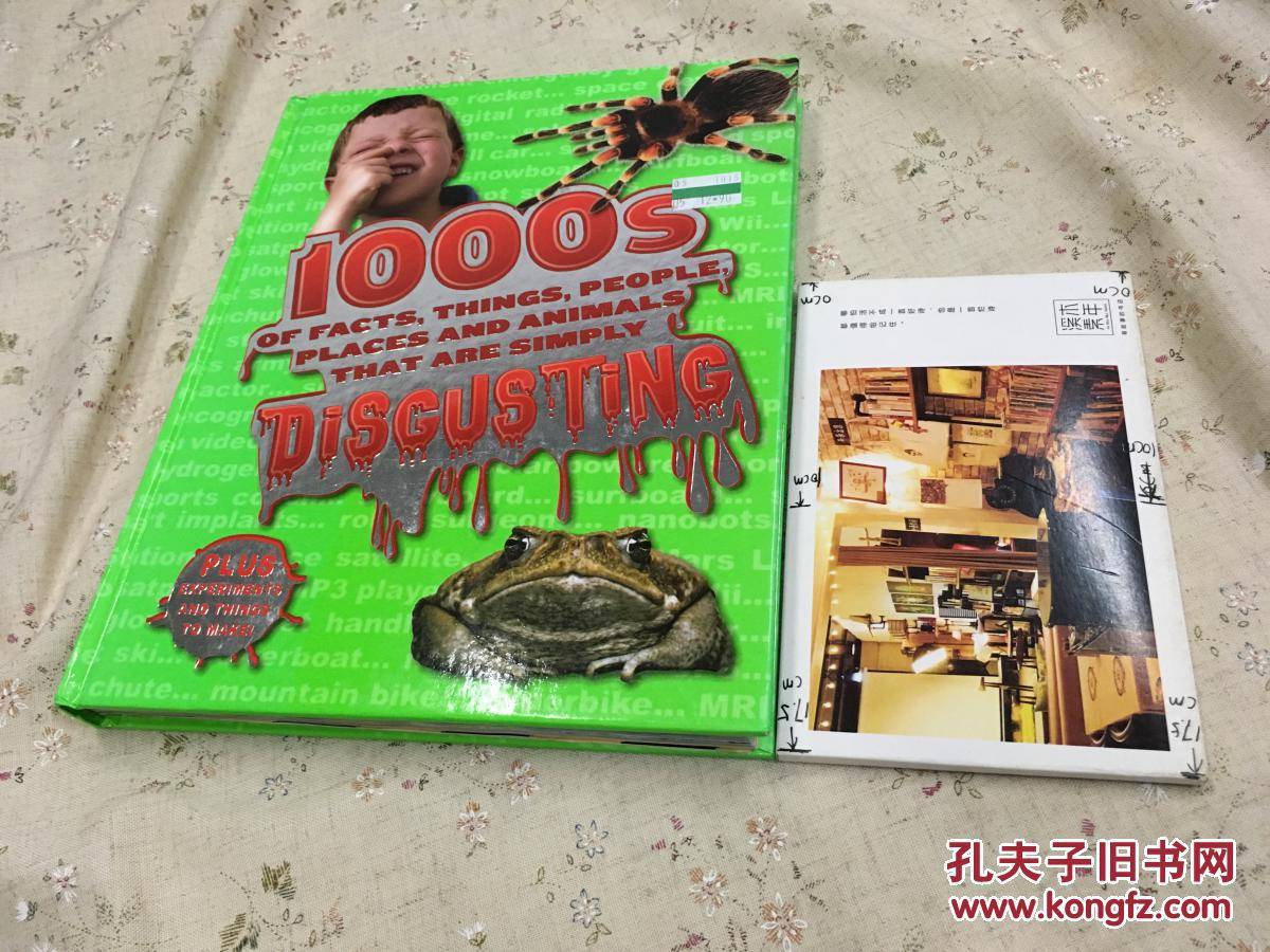 1000S DISGUSTING OF FACTS, THINGS, PEOPLE, PLACES AND ANIMALS THAT ARE SIMPLY  英文原版【存于溪木素年书店