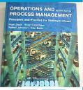 OPERATIONS   AND    PROCESS   MANAGEMENT【有光盘一张;。】