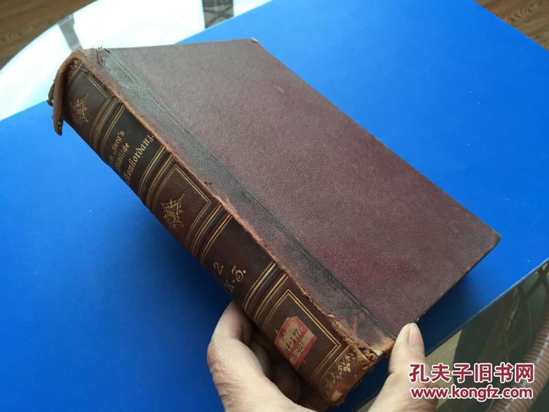 1912年 【圣经宗教字典】德文原版