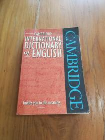 Cambridge International Dictionary of English 剑桥国际英语词典
