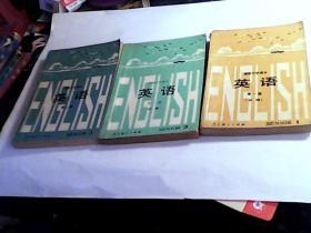高级中学课本——英语(第1册.第2册必修,第3册 有笔迹).3本合售