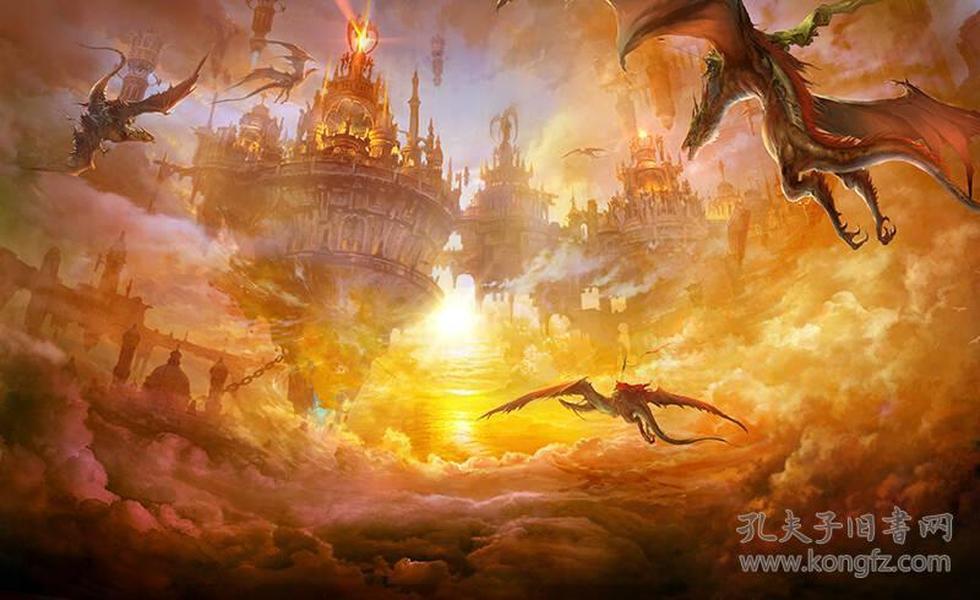 完美世界顶级游戏宣传画集2
