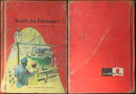 美国原版书籍-Trails to Treasure(精装本)