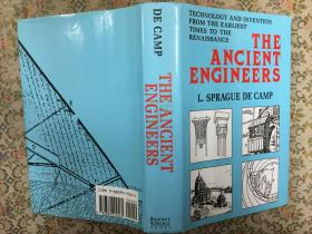 The Ancient Engineers: technology and invention from the earliest times to the renaissance, 古代工程师:从最初到文艺复兴时期的科技与发明,1993布面书脊精装插图本,九品强,值得收藏