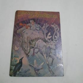 CONTES DANDERSEN 2 法文版 安徒生童话 2 1956年 彩图版