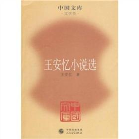 王安忆小说选——中国文库·文学类