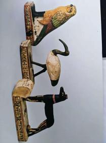 埃及文物明信片