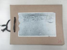 清华大学建筑系旧藏照片资料  一套8张  尺寸14.5×9.5厘米 尺寸大小不一