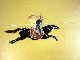 【罕見】【裝幀孤品】1788年郎世寧,王至誠等起稿/法國版刻家埃爾芒(HELMAN)刻版巨冊《乾隆平定西域戰圖》(又名《乾隆平定準部回部戰圖》或《乾隆平定西域得勝圖》)二十七張銅版畫(全)/ 倫敦著名裝幀坊 ZAEHNSDORF羊皮精裝/封面鑲皮郎世寧《阿玉錫持矛蕩寇圖》圖案/燙金中文書名集乾隆書法而成/皮裝燙金函套