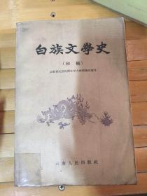 白族文学史 初稿