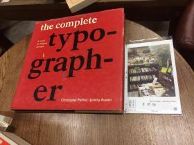 英文原版  the complete typographer -  A manual for designing with type
