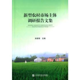 新型农村市场主体调研报告文集