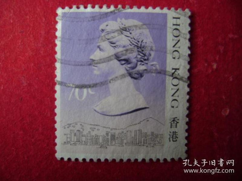 2-25.1988年香港女皇头像邮票,s1.00